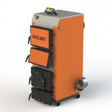 Твердотопливный котел КГУ-30 с электронной автоматикой и вентилятором