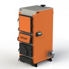 Твердотопливный котел КГУ-75 с электронной автоматикой и вентилятором