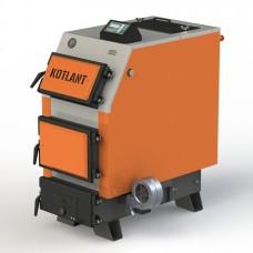 Твердотопливный котел КВУ-50 с электронной автоматикой и вентилятором