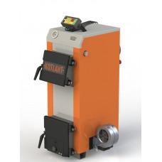Твердотопливный котел КН-12,5 с электронной автоматикой и вентилятором
