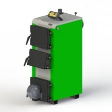 Твердотопливный котел KO-14-ЗД с электронной автоматикой и вентилятором