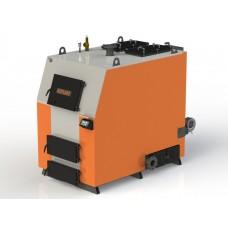 Твердотопливный котел КВ-350 с электронной автоматикой и вентилятором