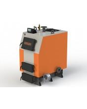 Твердотопливный котел КВ-65 с электронной автоматикой и вентилятором