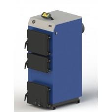 Твердотопливный котел M-22 с электронной автоматикой и вентилятором