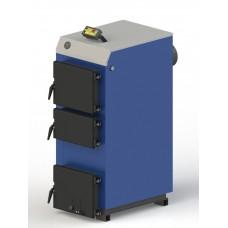 Твердотопливный котел M-27 электронной автоматикой и вентилятором