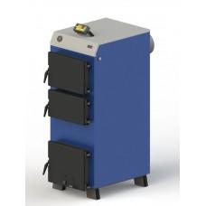Твердотопливный котел M-30 с электронной автоматикой и вентилятором