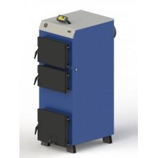 Твердотопливный котел M-40 электронной автоматикой и венитилятором